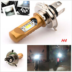 Motorcycle Headlight H4 HiLow Beam Super Bright Motor Accessory Plug and Play