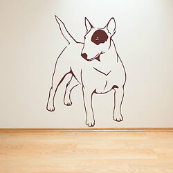 ENGLISH BULL TERRIER DOG vinyl wall art sticker decal