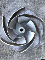 Sulzer Pump Impeller 0657 Diameter 15.5 Freight Shipping Available