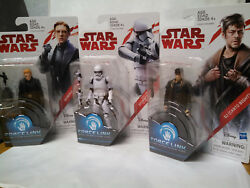2017 Star Wars Force Link General Hux And Stormtrooper And Dj