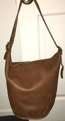 Coach Vintage Bucket Bag #718-4738 Tan Made in NYC USA