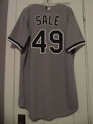 Chris Sale 2013 Chicago White Sox Game-used Road Jersey Boston Red Sox Worn
