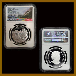 Canada 20 Dollars Silver Coin 2015 Grizzly Bear Family Ngc Pf 70 Early Releases