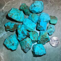 Sleeping Beauty Turquoise Nuggets Rough - 1/2 Pound Lots - Very High Quality