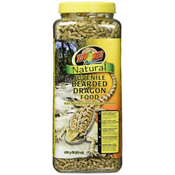 Zoo Med Laboratories - Natural Juvenile Bearded Dragon Food - 20 oz.