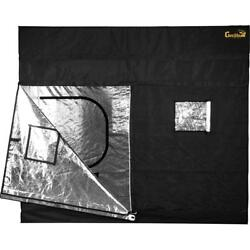 4'x8' Black Gorilla Grow Tent Infrared Blocking Roof Insertion Flood Protection