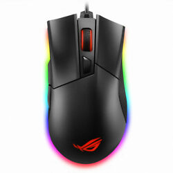 New Asus Rog Gladius Ii Origin Aura Sync Usb Wired Game Mouse -free Shipand Track