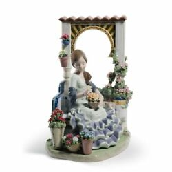 Lladro Andalusian Spring Woman Figurine. Limited Edition 01001964