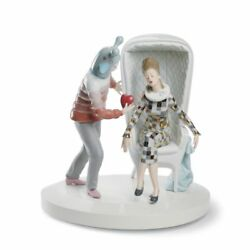 Lladro The Love Explosion Couple Figurine. By Jaime Hayon 01007270