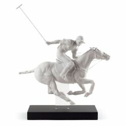 Lladro Polo Player Figurine. Limited Edition 01008719