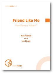 Friend Like Me From Aladdin - Brass Band - Score And Parts New Sheet Music Book
