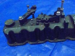 Rocker Cover Cylinder Head Cover W/oil Cap And Shift Levers Mercruiser 140 Il 4