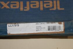 Cc 17919 Teleflex 600a Control Push Pull Control Assy 16and039 Used