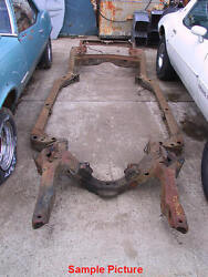 1968 Buick Riviera Frame Nice Solid Frame