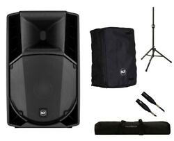RCF ART 710-A MK4 Active Speaker Monitor + Cover + Stand + Bag + Mogami Cable