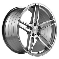 20 Vertini Rf1.6 Forged Silver Concave Wheels Rims Fits Bmw E92 E93 M3 Coupe