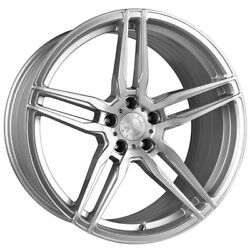 20 Vertini Rf1.6 Forged Silver Concave Wheels Rims Fits Bmw F12 F13 640 650
