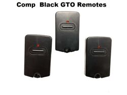 Gto Rb741 Gate Opener Mighty Mule Comp Fm135 Remote Control Transmitter 3 Pak