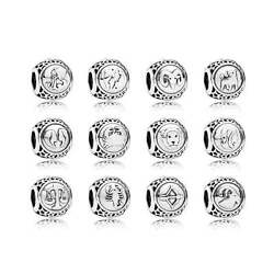 NEW Authentic Pandora HOROSCOPE ZODIAC STAR Charm Bead 12 Signs Choose One