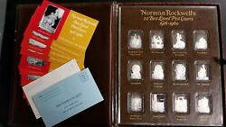 Norman Rockwell's Best Loved Post Covers Silver Bullion Very Rare Buy It Now