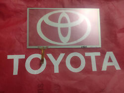 12-17 Toyota Camry Replacement Touch-screen Glass Digitizer Touch Pad Apps Radio