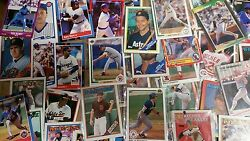 Wholesale Lot- 100,000 Packs Of Baseball Card 5 Packs- From The 1980s-clear Bags
