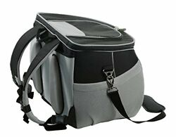 One for Pets The EVA Backpack Pet Carrier Small Black Airline Approved Size -