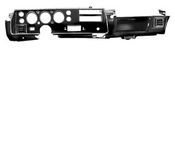 Chevy Chevelle, El Camino Ss Only 1970-72 Dash Assembly