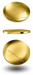Un Ultime Franc - France 2001 Gold Coin - The Last Franc - The Ultimate Franc