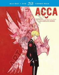 Acca 13-territory Inspection Dept. The Complete Series New Blu-ray Disc