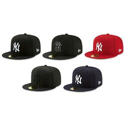 New York Yankees NYY MLB Authentic New Era 59FIFTY Fitted Cap 5950 Baseball Hat