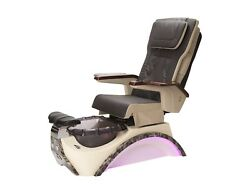 Pcp-815 Espresso Pedicure Chair With Pipeless Jet/free Stool + Free Shipping