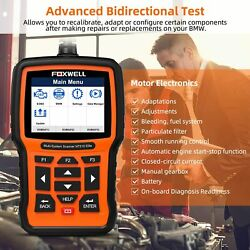 Car Engine Abs Airbag Transmission Scanner Auto Epb Oil Reset Diagnostic Tool