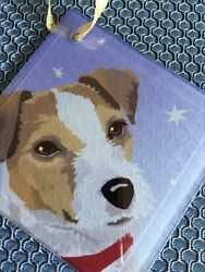 Jack Russell Terrier Picture Glass
