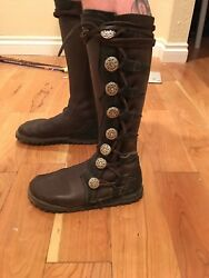 Nativearth Leather Ren Faire Boots