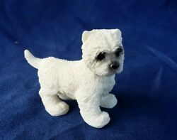 WESTIE  Figurine MINIATURE Mini Statue WEST HIGHLAND WHITE TERRIER