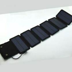 Outdoor USB Folding Portable Solar Energy Charging Panel 5V-12V  6W / 7.5W / 9W