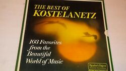Andre Kostelanetz The Best Of - 103 Favorites From The Beautiful... 8-lp Box Set