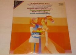 *RARE HARD TO FIND*The World's Favorite Waltzes*Vinyl Record
