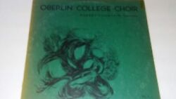 Rare Hard To Find Oberlin College Choirvol. 7 Vinyl Record
