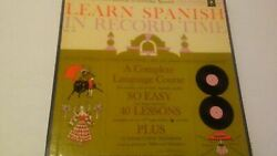 Vintagelearn Spanish In Record Time Vinyl Record