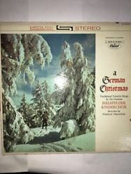 A German Christmas Album Capitol Records St 10308 Very Rare Vintage Collectible