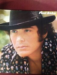 Paul Anka Album 33 Rpm Vintage / Collectible / A Must To Own