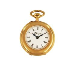 And Co. Rare 1920and039s Vintage 18k Rose Gold Pocket Watch