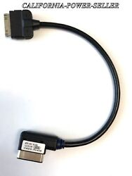 Genuine Oem Audi Ami Iphone Ipod Cable 30-pin Mdi Adapter Charger 4f0051510k