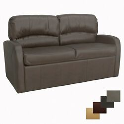 Recpro Charles 60 Chestnut Jack Knife Sleeper Sofa With Arms Rv Furniture Bed