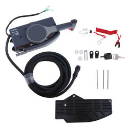 Boat Outboard Remote Control Box 703 for Yamaha Side Mount 10 Pin Cable