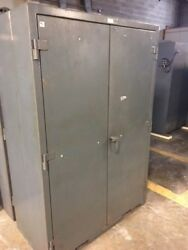 Heavy Duty Stronghold Cabinet With Electrical Outlet
