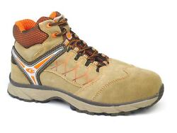 Cofra Mission Suede Leather Lace Up Lightweight S1p Toecap Misole Safety Boots