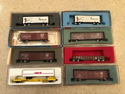 Rare Concor And Atlas Freight Collector Cars Limited Editions Excellent N Prr